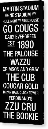 Washington State College Town Wall Art Canvas Print by Replay Photos