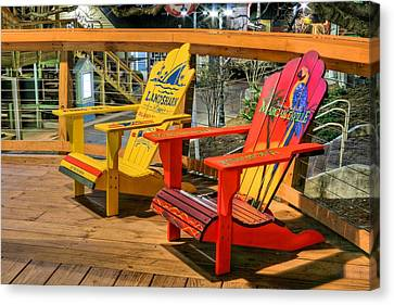 Wasting Away Again In Destin Canvas Print by JC Findley