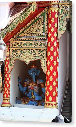 Wat Phrathat Doi Suthep - Chiang Mai Thailand - 011311 Canvas Print by DC Photographer