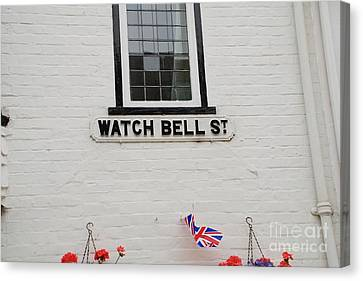 Watch Bell Street Rye Canvas Print by David Fowler