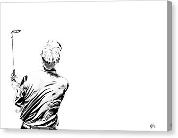Watching And Hoping Canvas Print by Karol Livote