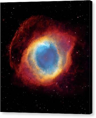 Watching - Helix Nebula Canvas Print by The  Vault - Jennifer Rondinelli Reilly