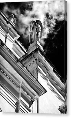 Watching Over Fatima Canvas Print by John Rizzuto