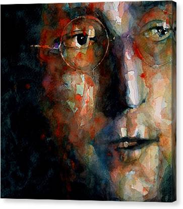 Watching The Wheels Canvas Print by Paul Lovering