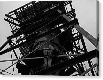 Watchtower Canvas Print by Jennifer Ancker