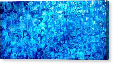 Water And Light Canvas Print by Holly Anderson