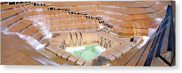 Water Garden Fountain, Fort Worth, Texas Canvas Print by Panoramic Images