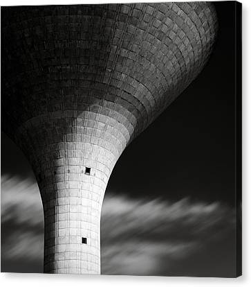 Water Tower Canvas Print by Dave Bowman