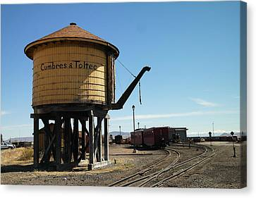 Water Tower Canvas Print by Jeff Swan