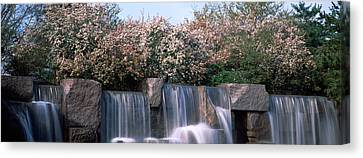 Waterfall, Franklin Delano Roosevelt Canvas Print by Panoramic Images
