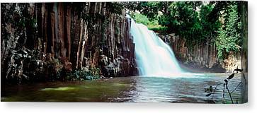 Waterfall, Rochester Falls, Mauritius Canvas Print by Panoramic Images