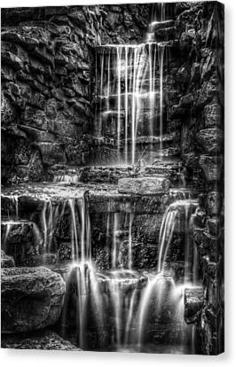 Waterfall Canvas Print by Scott Norris