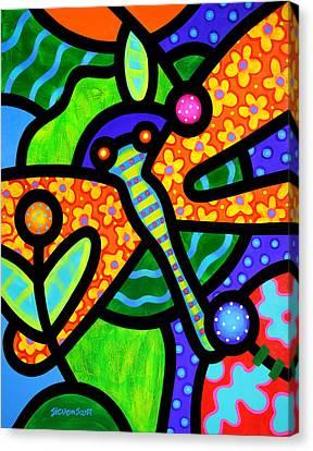 Watergarden Canvas Print by Steven Scott