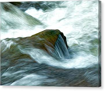 Waterspill Canvas Print by David Kehrli