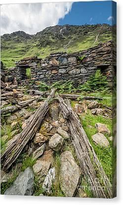 Watkin Path Ruin Canvas Print by Adrian Evans