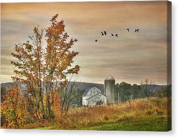 Watkins Glen Farm Canvas Print by Lori Deiter