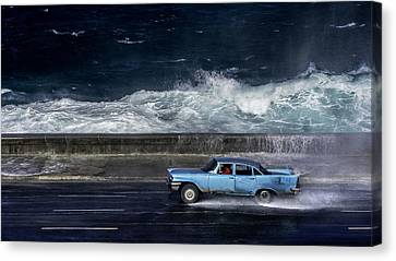 Wave  Driver Canvas Print by Alper