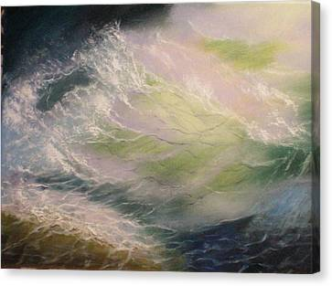 Wave Canvas Print by Elena Sokolova