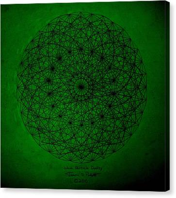 Wave Particle Duality II Canvas Print by Jason Padgett
