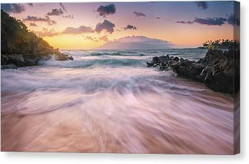 Wave Surge Canvas Print by Hawaii  Fine Art Photography