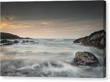 Waves In Motion Canvas Print by Andy Astbury