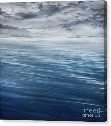 Waves In Motion Blur. Canvas Print by Mythja  Photography
