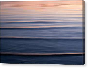 Waves On The Great Salt Lake Canvas Print by Phil Schermeister