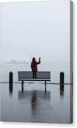 Waving Goodbye Canvas Print by Joana Kruse