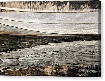 Wavy Reflections Canvas Print by Sue Smith