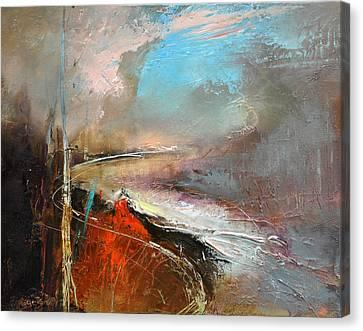 Way Home Vii Canvas Print by David Figielek