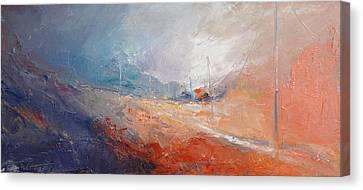 Way Home Viii Canvas Print by David Figielek