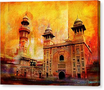 Wazir Khan Mosque Canvas Print by Catf