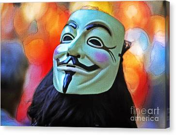 We Are The 99 Canvas Print by Stefano Senise