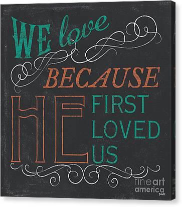 We Love.... Canvas Print by Debbie DeWitt