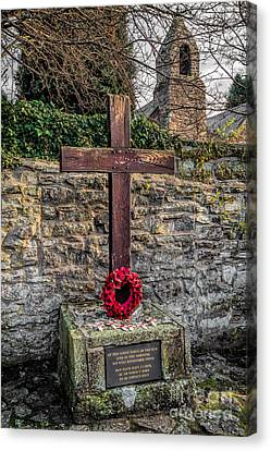 We Will Remember Canvas Print by Adrian Evans