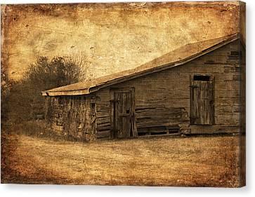 Weathered And Old Canvas Print by Kim Hojnacki
