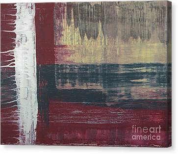 Weathered Canvas Print by Michael Stanley