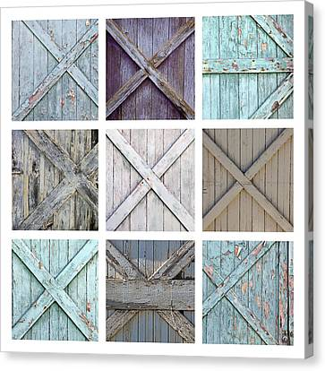 Weathered Paint Canvas Print by Art Block Collections