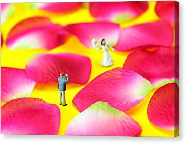 Wedding Photography Little People Big Worlds Canvas Print by Paul Ge