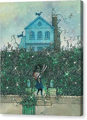 Weeding Canvas Print by Dennis Wunsch