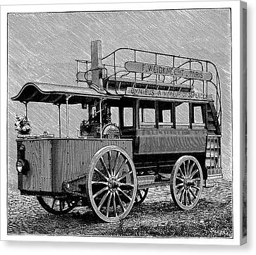 Weidknecht Steam Omnibus Canvas Print by Science Photo Library