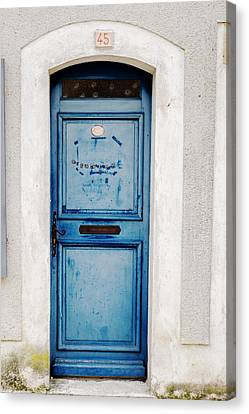 Welcome Door Canvas Print by Georgia Fowler