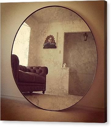 Welcome Home #2014 #chesterfield #sofa Canvas Print by Ale Segovia
