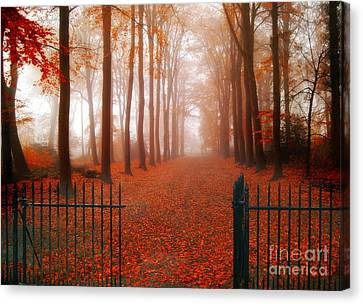 Welcome Canvas Print by Jacky Gerritsen