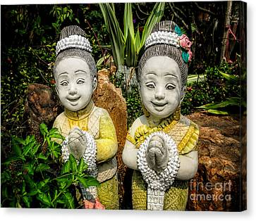 Welcome To Thailand Canvas Print by Adrian Evans