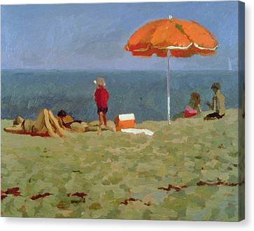 Wellfleet Beach  Canvas Print by Sarah Butterfield