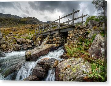 Welsh Bridge Canvas Print by Adrian Evans