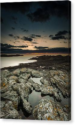 Welsh Seascape Canvas Print by Andy Astbury