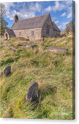 Welsh Tombs Canvas Print by Adrian Evans
