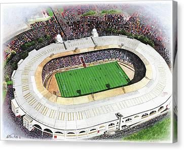 Wembley Stadium Canvas Print by Kevin Fletcher